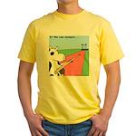 Cow Olympics Yellow T-Shirt
