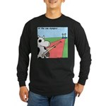 Cow Olympics Long Sleeve Dark T-Shirt