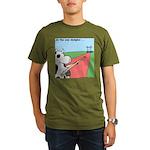 Cow Olympics Organic Men's T-Shirt (dark)