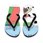 Cow Olympics Flip Flops