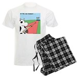 Cow Olympics Men's Light Pajamas