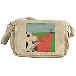 Cow Olympics Messenger Bag