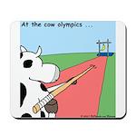 Cow Olympics Mousepad