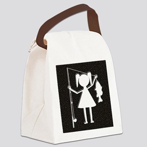 REELGIRL BLANKET Canvas Lunch Bag