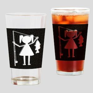 REELGIRL BLANKET Drinking Glass