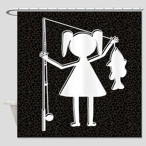 REELGIRL BLANKET Shower Curtain