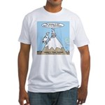 No Cow Incidences Fitted T-Shirt
