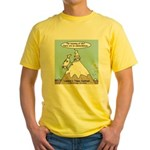 No Cow Incidences Yellow T-Shirt