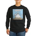 No Cow Incidences Long Sleeve Dark T-Shirt