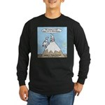 No Cow Incidences Long Sleeve Dark T-Shirt