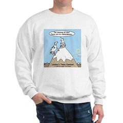 No Cow Incidences Sweatshirt