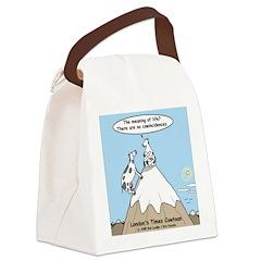 No Cow Incidences Canvas Lunch Bag