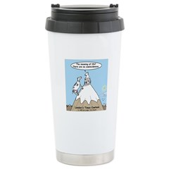 No Cow Incidences Stainless Steel Travel Mug