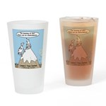 No Cow Incidences Drinking Glass