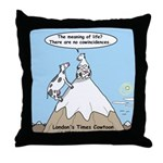 No Cow Incidences Throw Pillow
