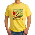 The Bullston Mooathon Yellow T-Shirt