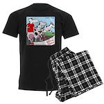 The Bullston Mooathon Men's Dark Pajamas