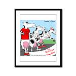 The Bullston Mooathon Framed Panel Print