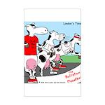 The Bullston Mooathon Mini Poster Print