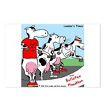 The Bullston Mooathon Postcards (Package of 8)