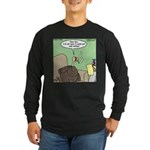 Cold Turkey Long Sleeve Dark T-Shirt