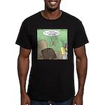 Cold Turkey Men's Fitted T-Shirt (dark)