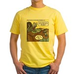 Cat and Mouse Yellow T-Shirt