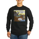 Cat and Mouse Long Sleeve Dark T-Shirt
