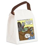 Cat and Mouse Canvas Lunch Bag