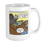 Cat and Mouse Large Mug