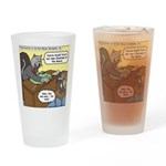 Cat and Mouse Drinking Glass