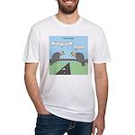 Impatient Buzzards Fitted T-Shirt