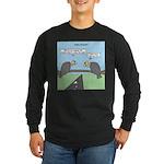 Impatient Buzzards Long Sleeve Dark T-Shirt