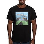 Impatient Buzzards Men's Fitted T-Shirt (dark)