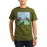 Impatient Buzzards Organic Men's T-Shirt (dark)