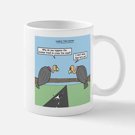 Impatient Buzzards Mug
