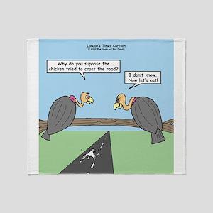 Impatient Buzzards Throw Blanket