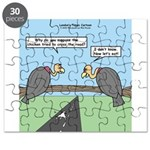 Impatient Buzzards Puzzle