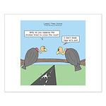 Impatient Buzzards Small Poster
