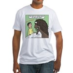 Buffalo Roaming Charges Fitted T-Shirt