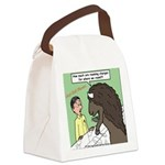 Buffalo Roaming Charges Canvas Lunch Bag