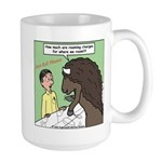 Buffalo Roaming Charges Large Mug