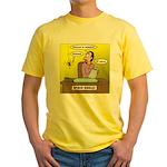 Black Widow Spider Dating Yellow T-Shirt