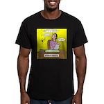 Black Widow Spider Dating Men's Fitted T-Shirt (da