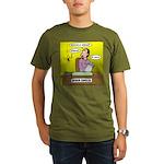 Black Widow Spider Dating Organic Men's T-Shirt (d