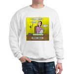 Black Widow Spider Dating Sweatshirt