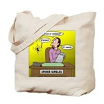 Black Widow Spider Dating Tote Bag