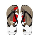 Bear Clause Flip Flops