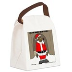 Bear Clause Canvas Lunch Bag