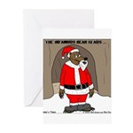 Bear Clause Greeting Cards (Pk of 10)